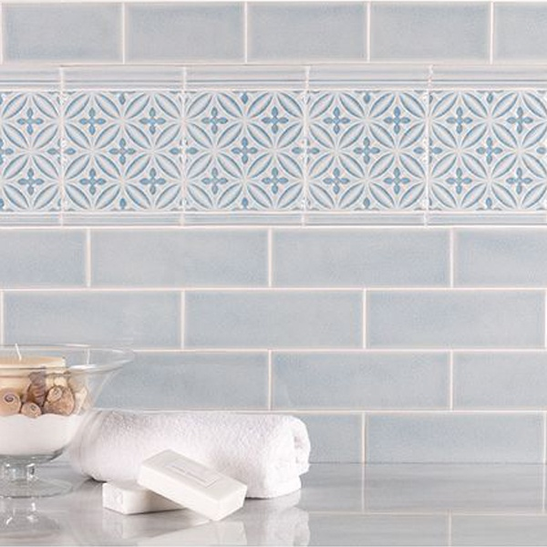 Subtle ceramic tiles are a great way to add a subtle backdrop for any residential or commercial design idea.