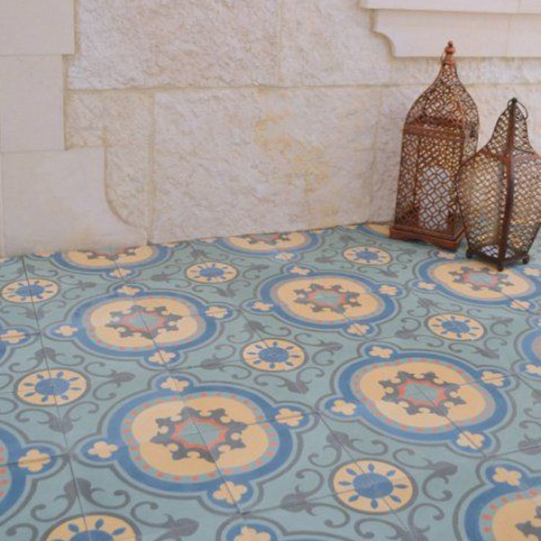 Beautiful handcrafted cement tiles are sure to add charm to your modern farmhouse or traditional home design.